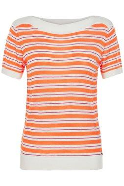 NÜmph 7319204 KEIICHI Dámský svetr oranžový