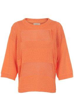 NÜmph 7319205 KRISTINA Dámský svetr oranžový