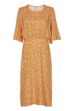 Nümph 7319810 KISMET Dámské šaty oranžové
