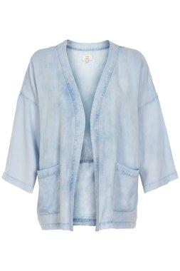 NÜmph 7319905 KIETHA Dámský kabátek modrý