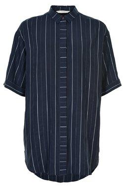 Nümph 7320007 NUALYVIA Dámská košile 3038 SAPPHIRE tmavě modrá