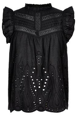 Nümph 7320030 NUALGRA Dámská košile 0000 CAVIAR černá