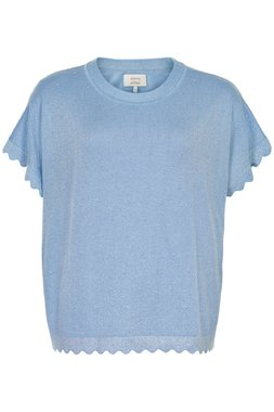 Nümph 7320201 NUDARLENE Dámský svetr 3054 AIRY BLUE modrá