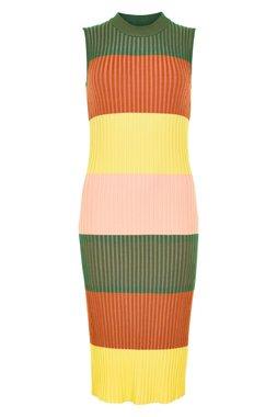 Nümph 7320806 NUBRICHETTE Dámské šaty 4047 M. OLIVE zelená