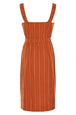Nümph 7320809 NUALYVIA Dámské šaty 2019 MANGO oranžová