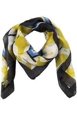 Nümph 7419413 KAYLIE SILK Dámský šátek zelený jedna velikost