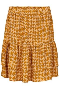 Nümph 7420107 NUBALLOU Dámská sukně 5013 BUCK BROWN hnědá