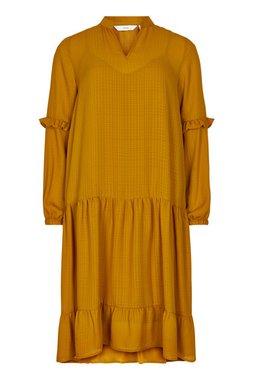 Nümph 7420818 NUBARDOT Dámské šaty 5013 BUCK BROWN hnědá