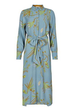 NÜmph 7420823 NUBEATRIX Dámské šaty 3064 CITADEL modrá