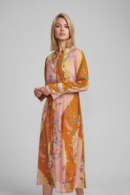 Nümph 7420826 NUKYNDALL Dámské šaty 5013 BUCK BROWN hnědá