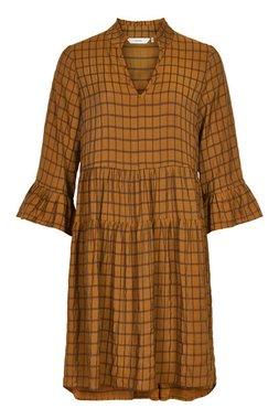 NÜmph 7420828 NUBEULA Dámské šaty 5013 BUCK BROWN hnědá