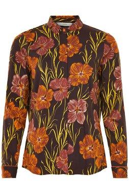 Nümph 7519004 JELLYPALM Dámská košile hnědá