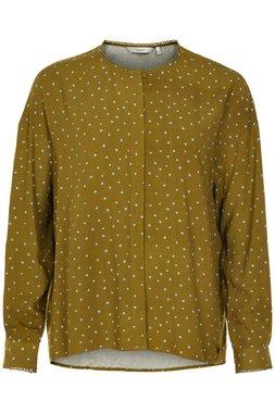 Nümph 7519021 MEDORA Dámská košile zelená