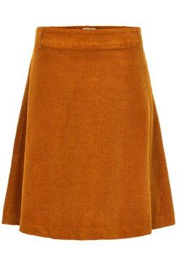 Nümph 7519109 TEKLA Dámská sukně hořčicově hnědá