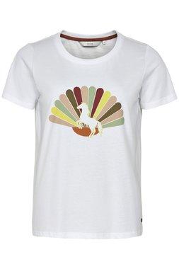Nümph 7519316 MIEKO Dámské tričko 9000 B. WHITE bílé