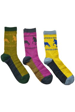 Nümph 7519408 MERAUD 3-PACK Dámské ponožky mix barev jedna velikost