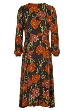 Nümph 7519806 MAGERY Dámské šaty hnědé