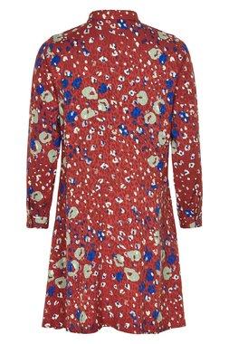 Nümph 7519821 MEDERIE Dámské šaty hnědé