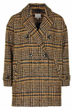 Nümph 7519907 MARITA Dámský kabát hnědý