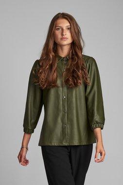 Nümph 7520001 NUBELEN Dámská košile 4034 DEEP DEPHT zelená