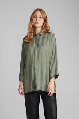 Nümph 7520004 NUBELIA Dámská košile 4007 A. GREEN zelená