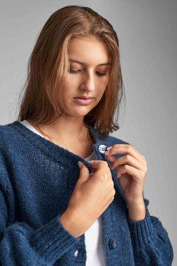 Nümph 7520225 NUBELLA Dámský svetr 3063 MOONLIT tmavě modrá