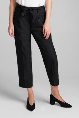 Nümph 7520610 NUBLOSSOM Dámské kalhoty 0000 CAVIAR černá