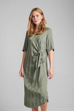 Nümph 7520804 NUBELIA Dámské šaty 4007 A. GREEN zelená