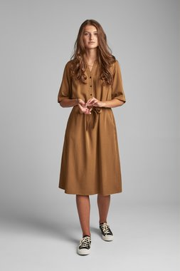 Nümph 7520812 NUBETHOC Dámské šaty 5033 BRONZE BR hnědá