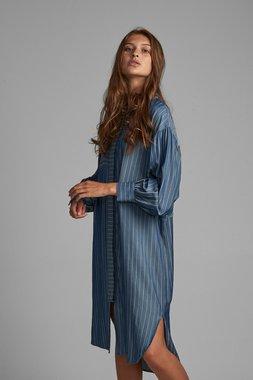 Nümph 7520817 NUBARDOU Dámské šaty 3010 L.B.DENIM modrá