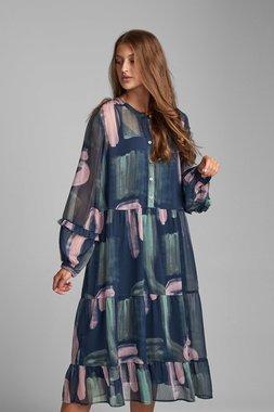 Nümph 7520819 NUBERT Dámské šaty 3063 MOONLIT tmavě modrá