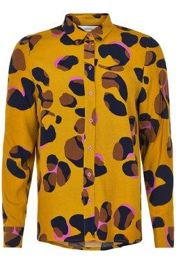 Nümph 7619007 NUMARJORIE SHIRT Dámská košile hořčicově žlutá