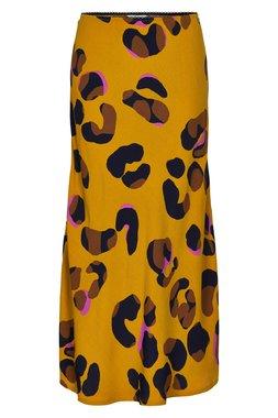 Nümph 7619105 NUMARJORIRE SKIRT Dámská sukně hořčicově žlutá