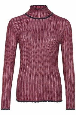 Nümph 7619208 NUMISTY PULLOVER Dámský svetr růžový