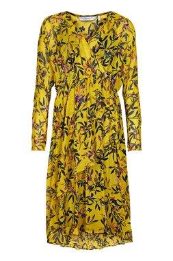Nümph 7619803 NUNAKIA DRESS Dámské šaty žluté