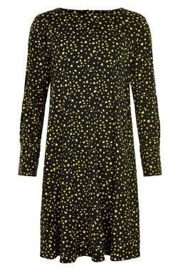 Nümph 7619804 NUJELLYPALM DRESS Dámské šaty černé