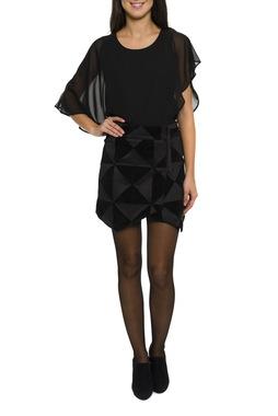 Smash GALICIA sukně černá