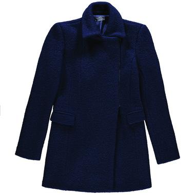 Mismash CALVET kabát tmavě modrý