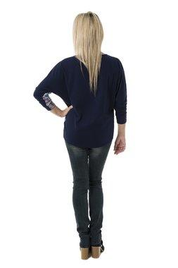 Smash MOLINA tričko dlouhý rukáv tmavě modré