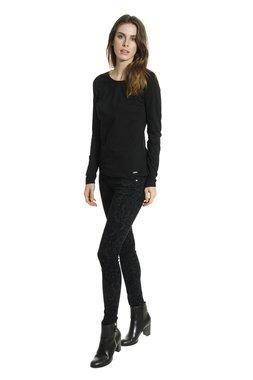 Smash BORBO tričko s dlouhým rukávem černé