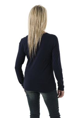 Smash BORBO tričko s dlouhým rukávem tmavě modré