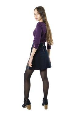 Smash CANDI krátká sukně tmavě modrá