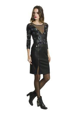 Smash FATE krátká sukně černá Glam&Shine