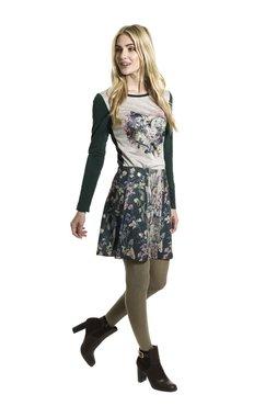 Smash LUDIC krátká sukně tmavě zelená