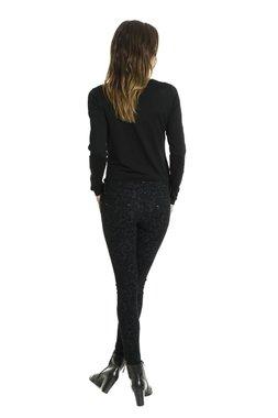 Smash REIKA kalhoty černé se vzorem