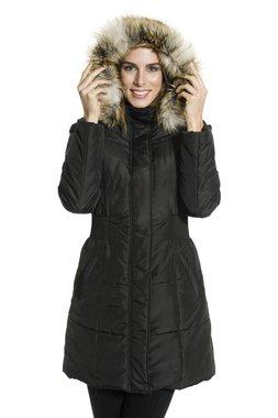 Smash JANE kabát/bunda s kapucí černý (Akce20) MMF2