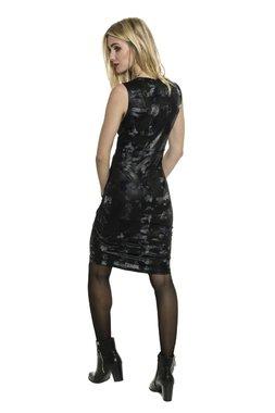 Smash ESTRELA krátké šaty černé Glam&Shine