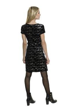 Smash AVELINA krátké šaty černé Glam&Shine