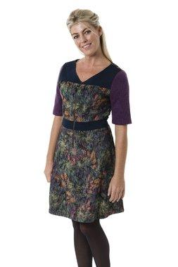 Smash ALBIZIA krátké šaty fialové