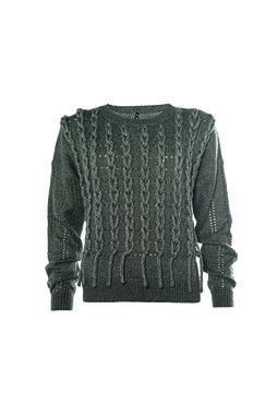 Smash BULAN Dámský svetr tmavě šedý